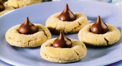 peanut butter kiss cookies R